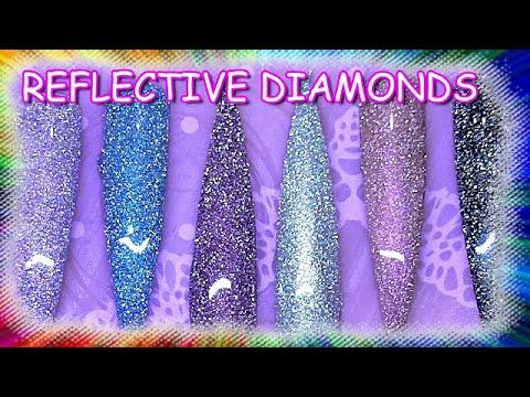 Reflective Diamonds Effect Gel Polish | Saviland | ABSOLUTE NAILS