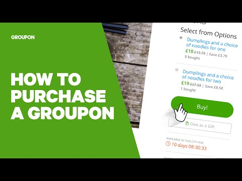 How to Purchase a Groupon Deal