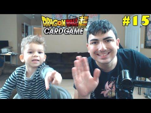 Super Saiyan Sibling Saturday! | Opening Dragon Ball Super Cross Worlds Packs With Lukas #15
