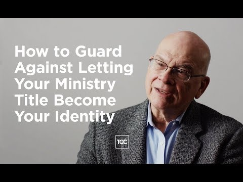 How to Guard Against Letting Your Ministry Title Become Your Identity