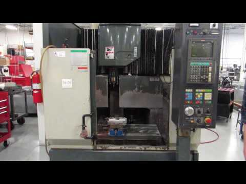 Enshu Model S-400 CNC Vertical Machining Center - Online Auction at www.machinesused.com