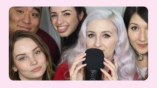 ASMR with Friends! (ft. Gibi ASMR, ASMR Darling, Seafoam Kitten & Matty Tingles)