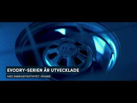 EvoDry-Serien Avfuktare