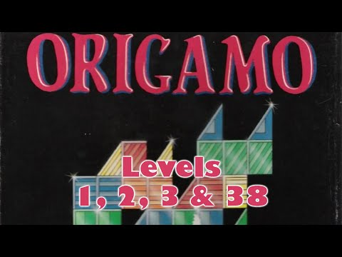 Origamo (1994) - PC - Levels 1, 2, 3 & 38