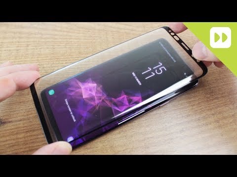 Olixar Samsung Galaxy S9 / S9 Plus Full Cover Glass Screen Protector Installation Guide & Review - UCS9OE6KeXQ54nSMqhRx0_EQ