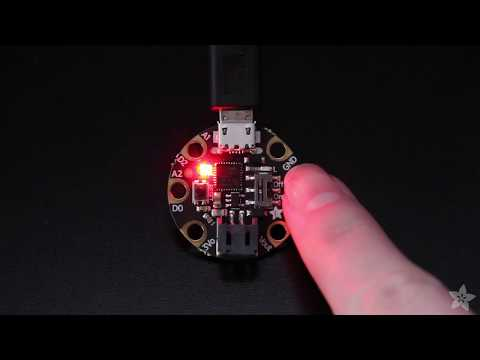 Gemma TouchLight - Red Light, Green Light, Blue Light @adafruit #adafruit