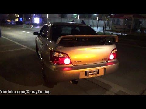 Subaru Impreza STI S203 - LHD and Accelerations