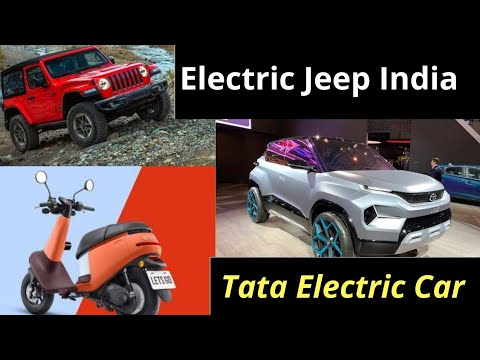 Electric Vehicles News 29: Electric Jeep India, Tata H2x Electric,  GoGoro Viva electric Scooter