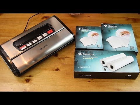 Розыгрыш и Обзор ✧ Вакуумная упаковочная машина GEMLUX GL-VS-779S