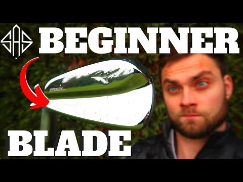 SHOULD A BEGINNER HIT A DIFFICULT BLADE!?  (Week 1 - Left Handed)
