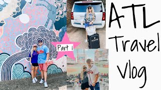 ATLANTA, GA TRAVEL VLOG | TRAVEL WITH ME | PART I