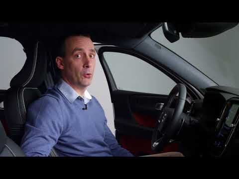 Nya Volvo XC40 – Smart förvaring