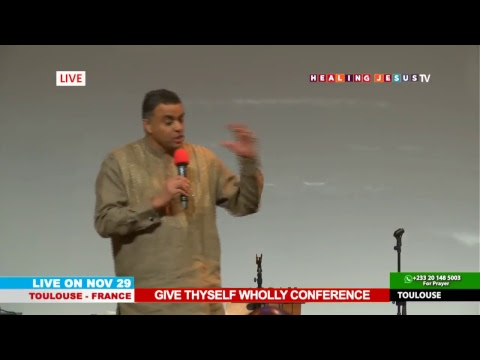 WATCH THE GIVE THYSELF WHOLLY CONFERENCE, LIVE FROM TOULOUSE - FRANCE. DAY 2 SESSION 3.