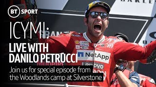 Anything can happen at the British GP! Danilo Petrucci joins us for a special ICYMI from Silverstone