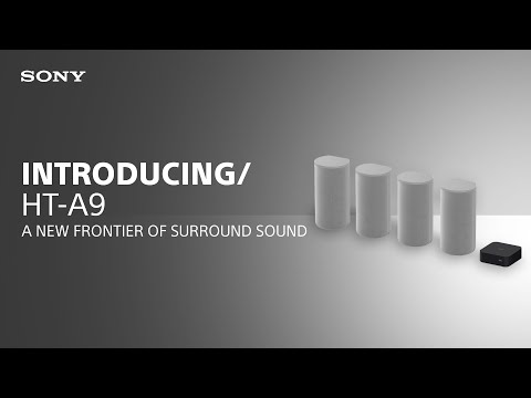 Introducing the Sony HT-A9 Home Theatre System