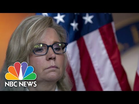 GOP Set To Vote On Removing Cheney From House Leadership | NBC Nightly News