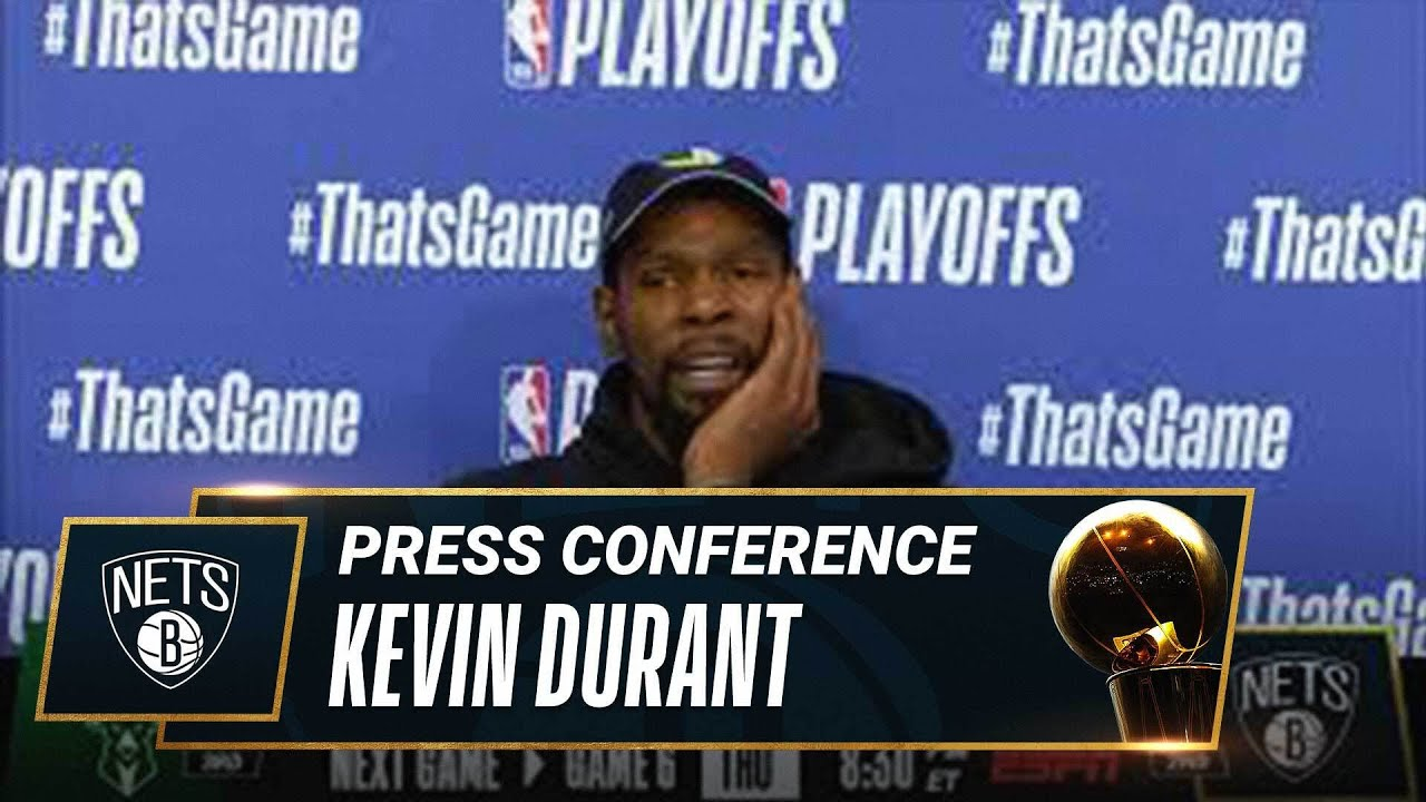 Kevin Durant Game 5 Postgame Press Conference | #NBAPlayoffs