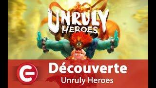 Vidéo-Test : [Vidéo-test/Découverte] Unruly Heroes sur PC
