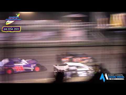 KRA Speedway WISSOTA Super Stock A-Main (7/22/21) - dirt track racing video image