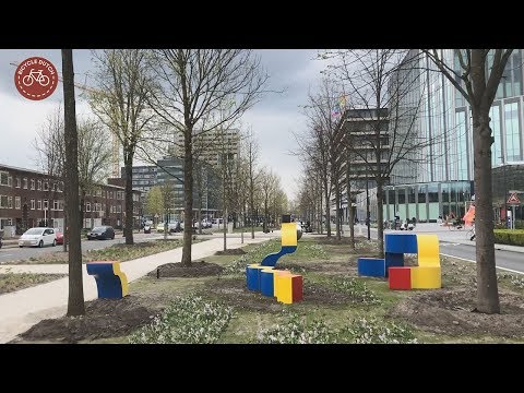 The redesign of a former arterial road in Utrecht (NL) photo