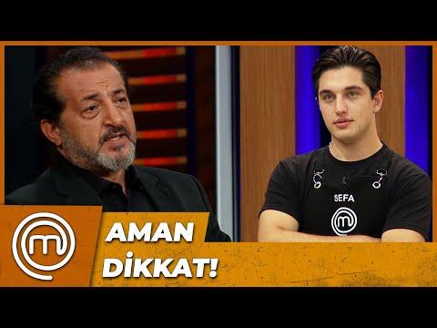 MEHMET ŞEF'TEN SEFA'YA ÖZEL UYARI | MasterChef Türkiye 85. Bölüm