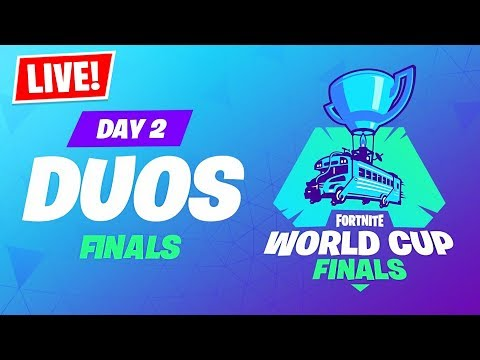Fortnite WORLD CUP LIVE Duos Tournament Finals!! ($30,000,000) - UC2wKfjlioOCLP4xQMOWNcgg
