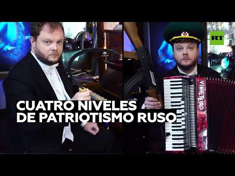 Así clasifica el patriotismo ruso un pianista