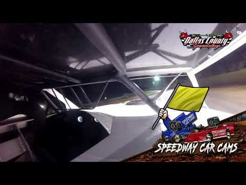 #101 Jacob Hall - Midwest Mod - 7-2-2021 Dallas County Speedway - In Car Camera - dirt track racing video image