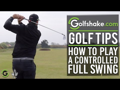 How To Play A Controlled Full Golf Shot - Improve Your Iron Play Series