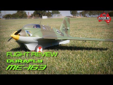 Flight Review Durafly ME 163 - 100mph because it can! - UCOfR0NE5V7IHhMABstt11kA