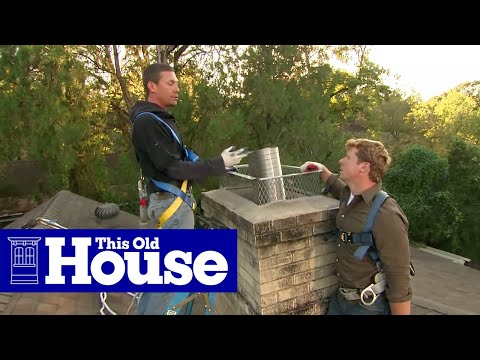 How to Install a Chimney Liner and Damper | This Old House - UCUtWNBWbFL9We-cdXkiAuJA