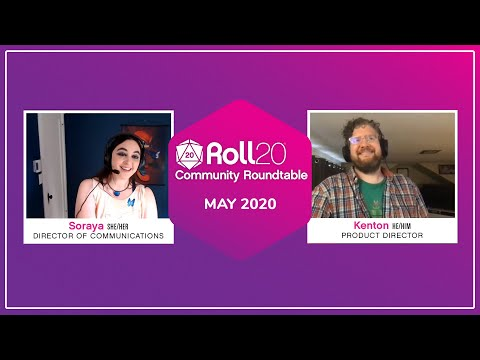 Roll20 Community Roundtable | Q&A [05.21.2020]