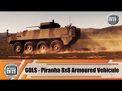 Piranha GDELS 8x8 wheeled armored combat vehicles APC IFV technical review analysis General Dynamics