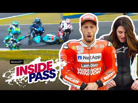 MotoGP 2019 Spain: Dovi & Vanessa Try The Airbag Suit   Inside Pass #4 - UC0mJA1lqKjB4Qaaa2PNf0zg