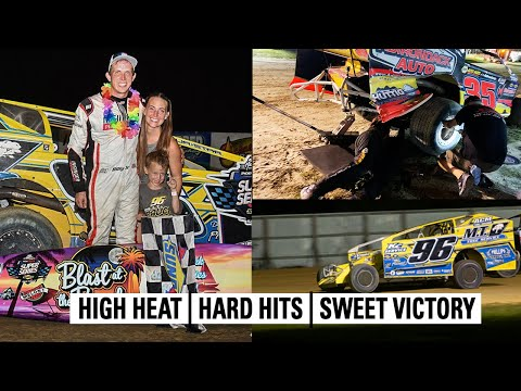 High Speeds And Hard Hits At Georgetown Speedway | Short Track Super Series - dirt track racing video image