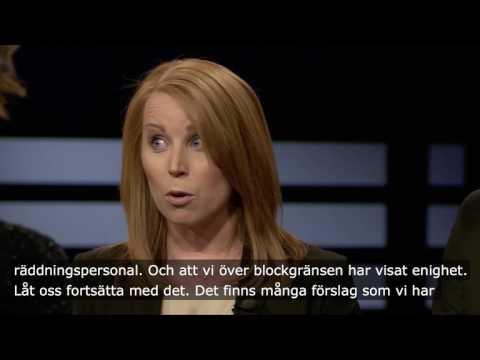 Annie Lööf Agenda 2017-04-09