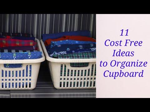 11 Simple Money Saving Wardrobe Organization Tips - Ideas to Organize Cupboard