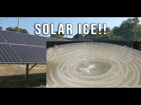 Thermal Storage: Solar ICE