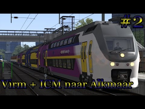 Met de Virm + ICM Enkhuizen (via Hoorn) Alkmaar - Train Simulator 2017 (livestream #2)