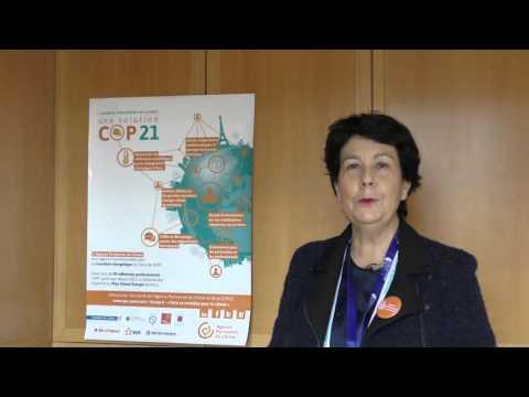 [COP21] Le mot de Anne Girault-Ged