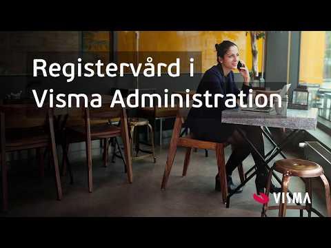 Registervård i Visma Administration