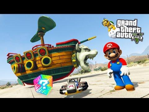 GTA  5 Mods - ULTIMATE  SUPER MARIO MOD!! GTA 5 Super Mario Mod Gameplay! (GTA 5 Mods Gameplay) - default