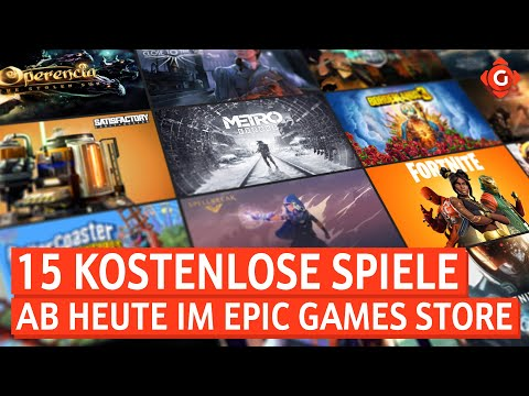 Epic Games Store: Ab heute 15 Spiele kostenlos! Mass Effect: Alte Veteranen angeheuert! | GW-NEWS