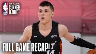 HEAT vs MAGIC | 5 Players Score Double Figures For Miami | MGM Resorts NBA Summer League