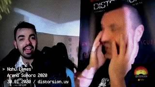 Entrevista a Nahù Lemes en Arena Sonora 2020 (30.01.2020)
