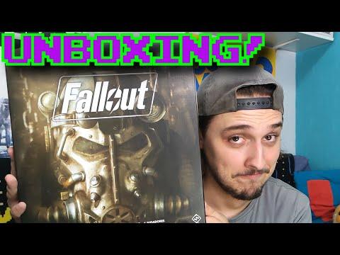 FALLOUT: EL JUEGO DE MESA || UNBOXING!