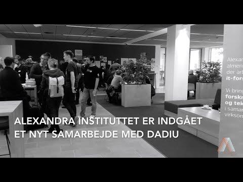 Alexandra Instituttet: Nyt samarbejde med DADIU