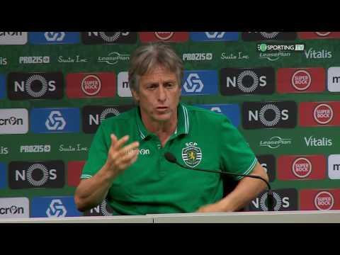 Conferência Jorge Jesus - Antevisão Paços de Ferreira x Sporting CP