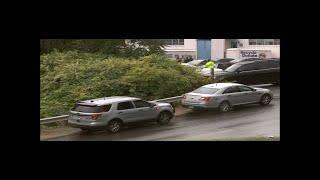 Scene Video: Crews search Waterbury street for missing Meriden mom