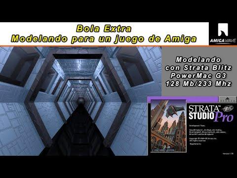 Bola Extra - Modelado para un nuevo juego de Amiga.